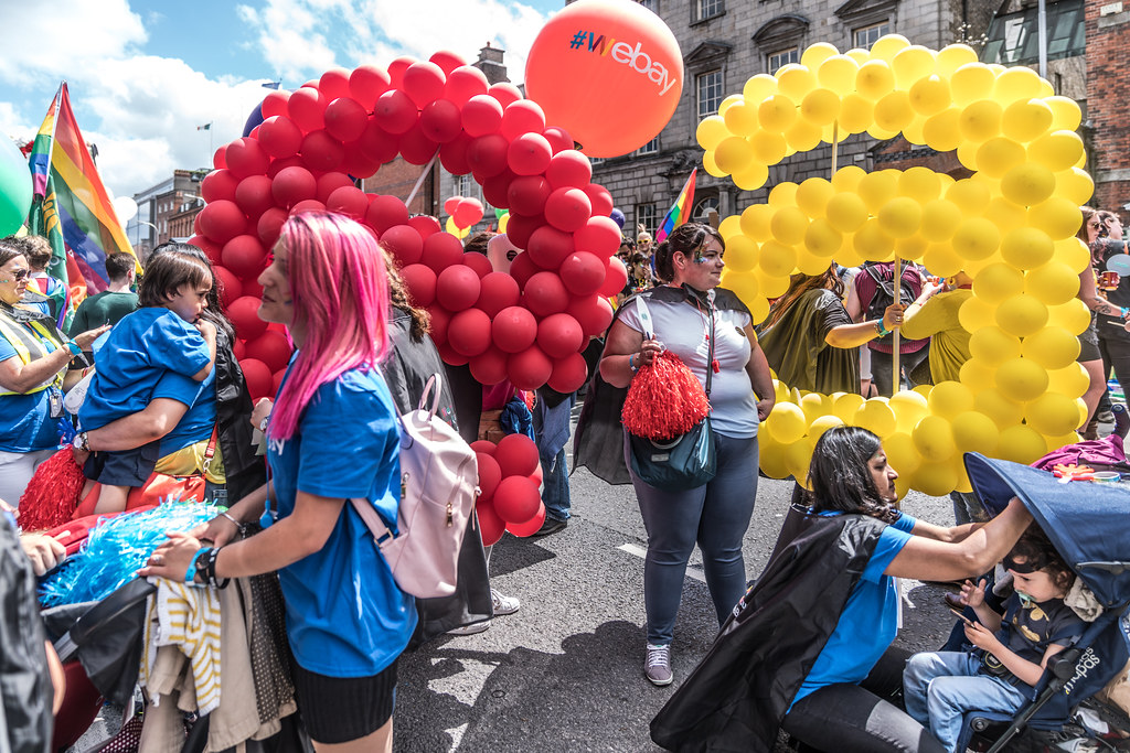LGBTQ+ PRIDE PARADE 2017 [STEPHENS GREEN BEFORE THE ACTUAL PARADE]-129934