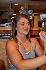 June 24 2017 - Half of the Shryack duo of great bartenders (La_Z_Photog) Tags: 062417keithspokerrun lazy photog elliott photography badlands poker run cancer fund benefit motorcycles worland buffalo wyoming o