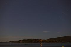 cape Passero Sardinia by night (netspasheco) Tags: sardina capocaccia cape capo passero night stars sea