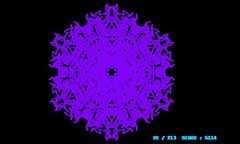 Fractal Geometry (xgeom) Tags: geometric math mathematics programming javascript canvas art mandala structure drawing flower topology shapes shapemorph crowns animation fractals trigonometry spirals sides lines kaleidoscoperoschach generativeart artistic crystals icecrystals complex