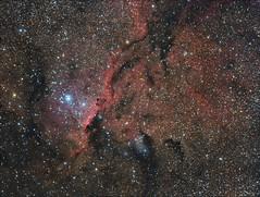 NGC 6188 (maicongerminiani) Tags: ara dragons ts115 teleskop teleskopservice triplet ts azeq5 asi astrophotography astronomy astrobin handnebula nebula apod optolong photoshop pleiades ps6 deepsky