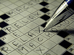 relaxation (silvia07(very busy)) Tags: relaxation crossword macromondays pencil words cruciverba parole matita relax