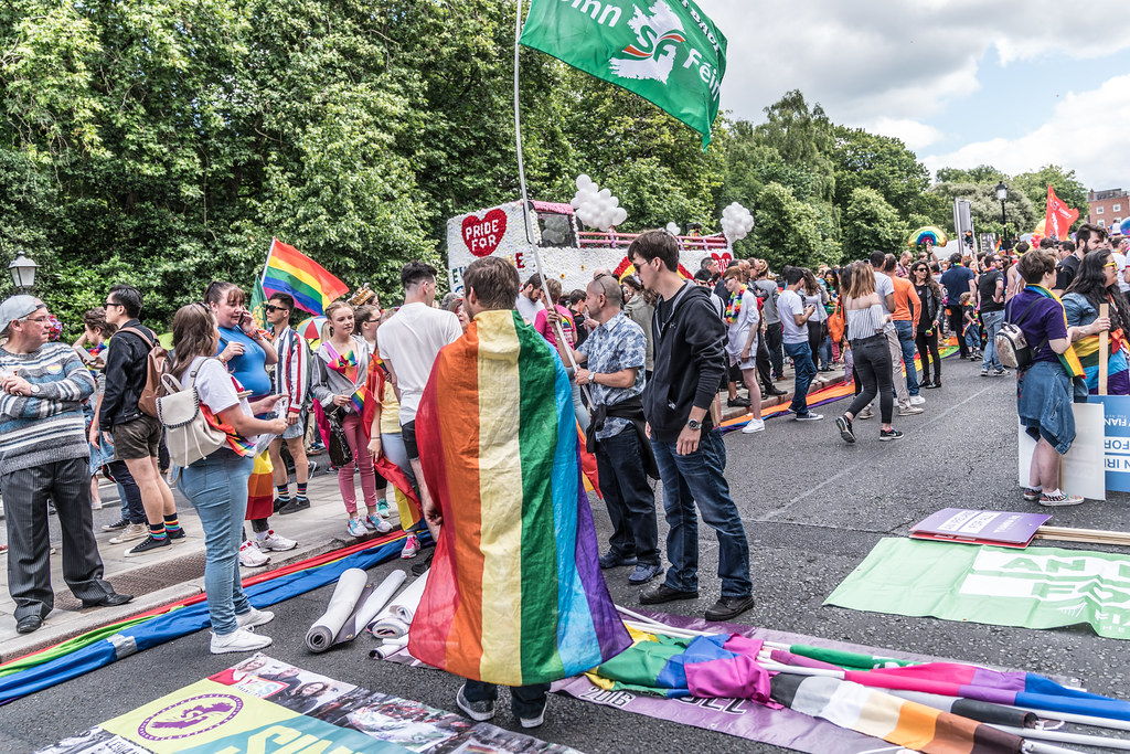 LGBTQ+ PRIDE PARADE 2017 [STEPHENS GREEN BEFORE THE ACTUAL PARADE]-129790