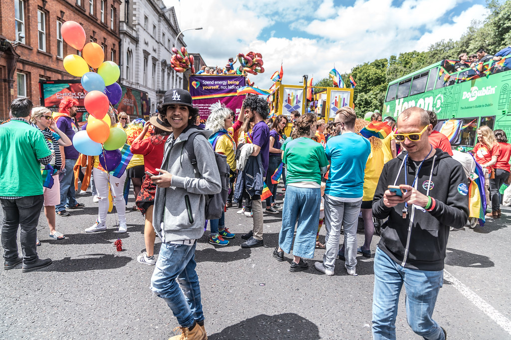 LGBTQ+ PRIDE PARADE 2017 [STEPHENS GREEN BEFORE THE ACTUAL PARADE]-129900