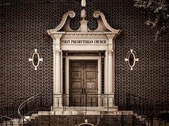 Entrance to First Presbyterian Church - Salisbury, NC (No Talent Bum) Tags: firstpresbyterianchurch salisburync rowancounty northcarolina nikond5300 entrances churches ncchurches