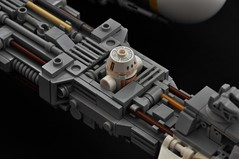 BTL-A4 Y-wing - Astromech Socket Detail (Inthert) Tags: lego moc star wars btl a4 y wing fighter rebel alliance gold squadron koensayr manufacturing greebling rogue one new hope space