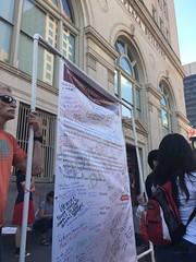 San Antonio Paris Agreement rally