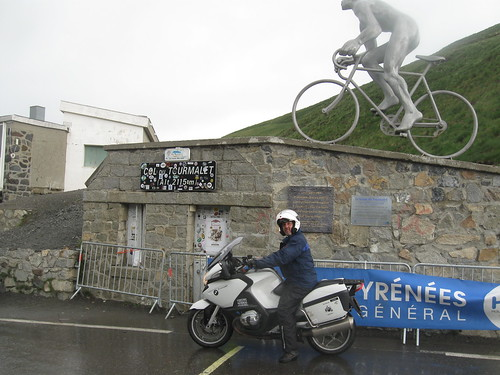 2017-06 Picos en Pyreneeën Evert op de col du Tourmalet
