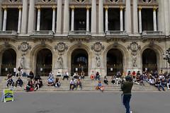 Jazzing Up the Opera (Eddie C3) Tags: parisfrance vacationphotos placedelopéra palaisgarnier streetscenes