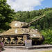 Sherman Tank at Clervaux Castle, Luxembourg