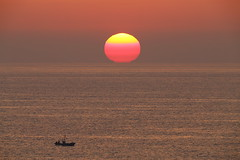 Beautiful moment (Teruhide Tomori) Tags: kyoto tango fishingboat beach coast seashore shore sea ocean sun sunset japan japon landscape tangopeninsula 丹後町 丹後半島 京都 日本 海岸 夕日 夕焼け 日没 京丹後 海 sky