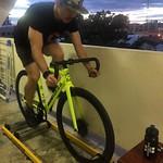 Rider 🚴 #veloniq #trainer #yellowdangerous #style #fixedgear #bike #cycling #ride #sport #dosnoventa #dsnvhouston #fizik #sramomnium #crankbrothers #eggbeater #race #cleat #shoes #giro #pattaya #thailand thumbnail