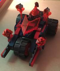 Macy's Boulder Blaster (Nexo Knights) Tags: lego nexo knights macy halbert moc custom car blaster boulder clay moorington merlok axl aaron fox lance richmond princess queen king castle knighton knightonia