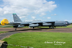B52H-LA-2BW-DEUCE-60-0002-11-6-17-RAF-FAIRFORD-(3) (Benn P George Photography) Tags: raffairford 11617 bennpgeorgephotography b52h la deuce 600002 2bw letsroll