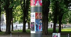 "Die Litfaßsäule. Die Litfaßsäulen. Diese schöne Litfaßsäule steht in Berlin. • <a style=""font-size:0.8em;"" href=""http://www.flickr.com/photos/42554185@N00/35471553216/"" target=""_blank"">View on Flickr</a>"