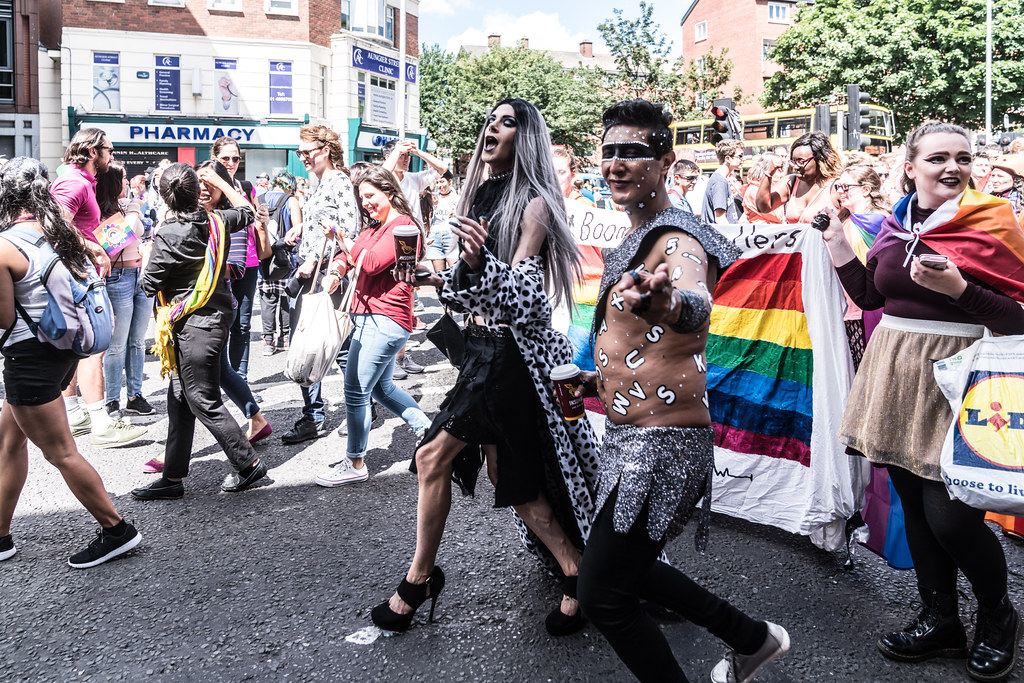 LGBTQ+ PRIDE PARADE 2017 [ON THE WAY FROM STEPHENS GREEN TO SMITHFIELD]-130152