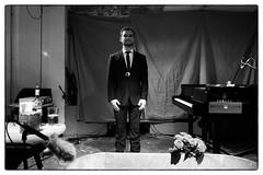 John Cage's Water Walk performed by Arthur Bruce @ Cafe Oto, London, 10th July 2017 (fabiolug) Tags: bathtub roses flowers piano pianoforte johncage waterwalk arthurbruce smithbrown avantgarde cafeoto london dalston music gig performance concert live livemusic leicammonochrom mmonochrom monochrom leicamonochrom leica leicam rangefinder blackandwhite blackwhite bw monochrome biancoenero leicaelmarit28mmf28asph elmarit28mmf28asph elmarit28mm leicaelmarit28mm 28mm elmarit leicaelmarit wide wideangle