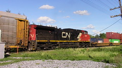 CN 2691 (MaineTrainChaser) Tags: 71017 cn nb qc trains train west westbound pelletier subdivision canada