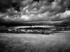 Plateau du larzac (Maurice HUCHON) Tags: monochrome nb noir blanc black white sky ciel nuage cloud campagne larzac aveyron millau