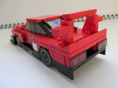nissan skyline RS Turbo Super Silhouette 1983 (Lego guy 2) Tags: nissan skyline rs turbo super silhouette 1983 lego 5 wide car city