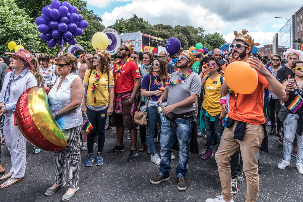 LGBTQ+ PRIDE PARADE 2017 [STEPHENS GREEN BEFORE THE ACTUAL PARADE]-129808