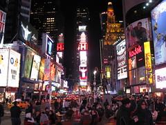 Classic view (VauGio) Tags: newjork manhattan timessquare notte night luci lights canon powershot usa