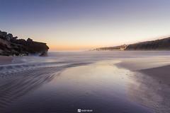 foz do lizandro (HugoSilvaDesigns) Tags: beach sea river coast sunset night sky water rocks sand landscape longexposure light ndfilter kitlens canon 60d