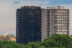 Grenfell Tower (James D Evans - Architectural Photographer) Tags: grenfelltower architecture shell fire firedamage towerblock homes housing kensington blackened charred