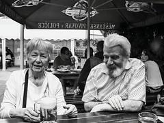 Grandmother and uncle_bw (ladic_1) Tags: grandmother unclebw bw czech portrait panasonic dmc fz50