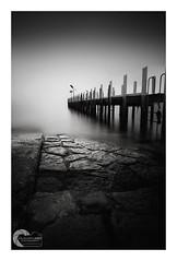 MOOD (Vaughan Laws Photography | www.lawsphotography.com) Tags: longexposure blackandwhite jetty pier fineart neutraldensityfilter nd10stop bw
