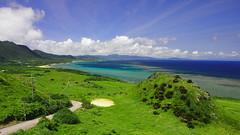 hirakubo (stnk0245) Tags: ishigaki okinawa japan sea sky land forest blue landscape 石垣島 沖縄 灯台 lighthouse