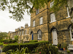 234 -  Saltaire - Albert Road - Houses for professional classes (1 of 1) (md2399photos) Tags: 2jun17 almshouses davidhockney robertspark saltaire saltaireunitedreformedchurch saltsmill victoriahall