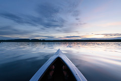 _DSC0890 (phatwhistle) Tags: kayak marielouiselake sleepinggiant sunset nature water waterscape landscape calm canada