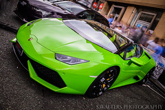 Lamborghini Huracan (sidrog28) Tags: lambo lamborghini green huracan v10 52 fast quick long exposure newcastle uk north northeast northumberland nikon