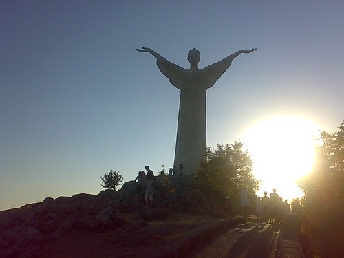 The Statue of Christ the Redeemer of Maratea