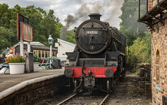 44806 waiting at the platform (Dave2638) Tags: grosmont nymr eskvalley
