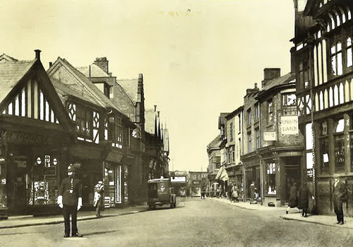 High Street viewed from Bull Ring - around 1930
