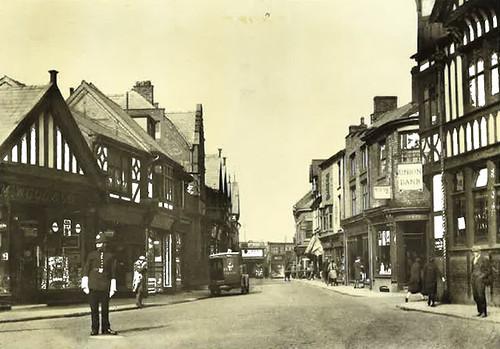 High Street viewed from Bull Ring - around 1930