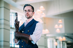 Percy (btsephoto) Tags: cosplay costume play project akon anime convention fort worth texas center downtown portrait fuji fujifilm xt1 yongnuo yn560 iii flash critical role dungeons dragons percy fujinon xf 56mm f12 r lens コスプレ