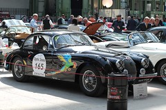 #165 Jaguar XK 150 S 1960 (seb !!!) Tags: 2017 auto automobile automovel automovil automobil coupé coach canon 1100d cars course sportive anciennes ancienne old oldtimers populaire paris seb france voiture wagen car tour optic 2000 grand palais race racing competition photo picture foto image bild imagen imagem classique classic klassic grande bretagne anglais anglaise english british britain england perroquet parrot papagei pappagallo loro papagaio noir nero negro schwartz black preto