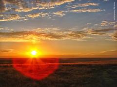 Sunrise in Flint Hills, 18 Sept 2016 (photography.by.ROEVER) Tags: kansas sunrise flinthills september 2016 northernchasecounty usa sky skies morning sunrising prairie landscape countryside september2016 roadtrip dayroadtrip chasecounty color colour colors colours