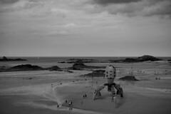 Lego UFO Saint-Jacut de la mer - atana studio (Anthony SÉJOURNÉ) Tags: lego ufo giant scale bretagne brittany blocks brick atana studio anthony séjourné explore