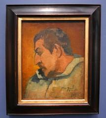 Paul Gauguin : Portrait de l´artiste, 1896. (neppanen) Tags: sampen discounterintelligence paris pariisi ranska france museo museum musee art taide kuvataide painting maalaus maalaustaide muséed'orsay d'orsay orsay d´orsay paul gauguin paulgauguin portrait selfie autoportrait omakuva muotokuva