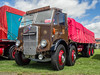 AEC Mammoth Major - NBP 536 (Ben Matthews1992) Tags: classic commercials westmid showground shrewsbury shropshire salop old vintage historic preserved preservtaion vehicle transport haulage lorry truck wagon waggon commercial rally show 1952 aec mammoth major flat flatbed nbp536 brown