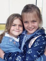 Crazy haired 'sisters' 194/365 130717 (Carmen's Year) Tags: isla freya jul pad 130717