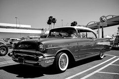 The Port of Los Angeles Presents Cars and Stripes Forever San Pedro, Ca. USA June 30th 2017 (JCD Images) Tags: carsandstripesforever portoflosangeles classiccars lowriders exoticcars 4thofjulyweekend losangeles sanpedro southbay california autoshow carshow june 2017 cars autos automobile street autocarclub chrome rims custompaint blackandwhite bw 1957 chevrolet belair