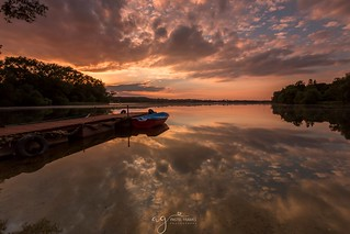 Lake Juno sunset