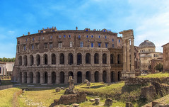 Teatro di Marcello (Fil.ippo (away)) Tags: teatromarcello theatreofmarcellus monument ancient augustus building roma filippo filippobianchi hdr travel viaggi cityscape panorama teatrodimarcello
