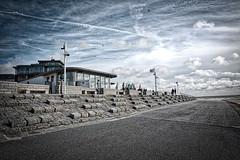 Milchbar @ Norderney, Germany ([ PsycBob ]) Tags: norderney milchbar sea meer seaside ein tag am sky himmel strand promenade dramatisch