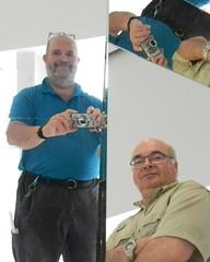 Michel et Daniel, les deux hermanos (PHOTOGRAPHE-ILLUSTRATEUR) Tags: miroir mirror frère brother amitié friendship mnbaq québec quebec musée museum beauxarts finesarts